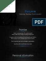 Duc CV - Marketing Manager