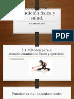 Tema 5. Deporte, Condición Física y Salud