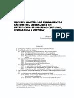 Los Fundamentos Básicos Del Liberalismo en Entredicho Pluralismo Cultural, Ciudadanía y Justicia