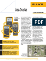 Keeping Things Flowing With Fluke Instruments An