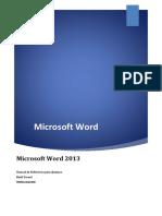 Unidad 02 - El Entorno de Word 2013