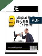 9ManerasRealesdeGanarDineroEnInternet