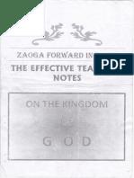 Kingdom of God Notes