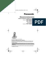 Manual del Panasonic KX TG3612