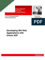 Developing RIA WebCenter