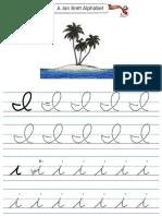 Alphabet Tracers i Cursive