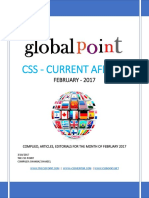 Global Point Current Affairs February 2017