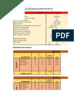 Plantilla Para Analisis Sismico Estatico