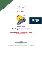 OSSLT - StED-Reading Comprehension