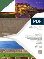 Elysium Resort & Spa - Fact Sheet 2018 ENG Ver 18_1