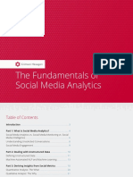 The Fundamentals of Social Media Analytics