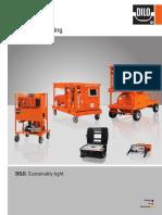 DILO SF6-Gashandling Catalogue GB