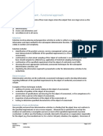 Annex 1 - Conformity Assessment - Functional Approach