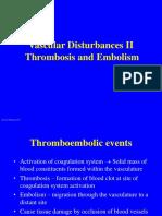 BAB VIII Thrombosis and Embolism