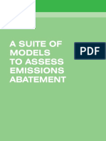 A Suite of Models to Assess Emissions Abatement