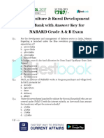 Agriculture and Rural Development Question Bank
