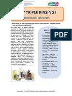 Panduan Triple Rinsing
