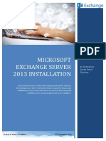 Microsoft Exchange Server 2013 Installation1
