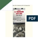 Una Mirada Crítica de La Historia de La Transición Española