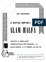 A Battle Report-Alam Halfa