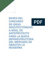 Bases Del Concurso Arquitectónico