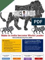 Make in India (2017) Presentation by JMV LPS