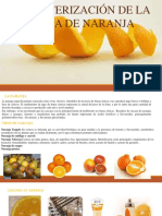 Caracterizacion de La Naranja