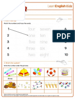 Worksheets Numbers 1 10
