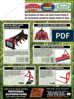 Value Select Box Scrapers, Rotary Mowers, Rear Blades