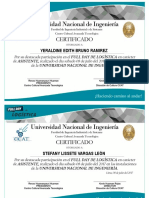 Certificados Asistente Full Day
