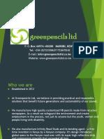 Green Pencils Addis Forum-Ivan O