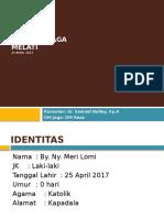 Laporan Jaga 25 April 2017 - Dr. Sammy