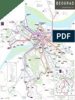 Beograd Gradski Prevoz Detaljna Mapa