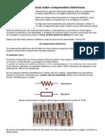 Nocoes Básicas de Componentes Eletronicos.
