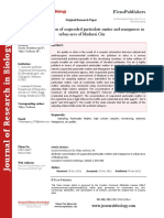 Journal of Research in Biology - Volume 2 Issue 1