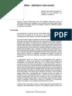 Curso Gerenciamento de Riscos - Relatório Técnico