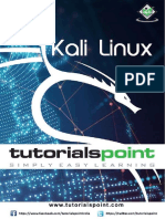Kali Linux Tutorial