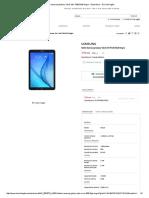 Tablet Samsung Galaxy Tab E SM-T560 8GB Negro · Electrónica · El Corte Inglés