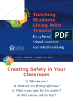 teaching students living with trauma