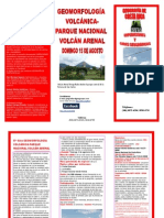 5 ta GIRA GEOGRAFÍA DE COSTA RICA PARQUE NACIONAL VOLCÁN ARENAL