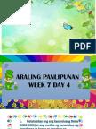 Araling Panlipunan 6 Week 7 Day Four Pptx
