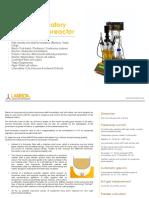 LAMBDA MINIFOR Laboratory Fermentor-Bioreactor_Leaflet