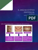 El Análisis Estético Dentofacial