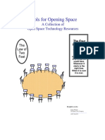 Tools for Opening Space