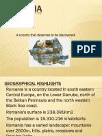 2017 Prezentare Romania