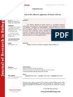 Journal of Research in Biology - Volume 3 Issue 1