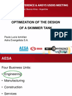 2014 Aesa Skimmer Tank Geometry Design