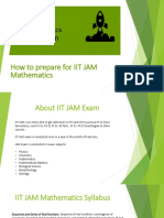 IIT JAM Mathematics Preparation