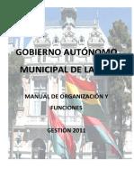 3 - Manual de Organización y Funciones GAMLP 2011
