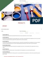 Products – Shree Surya Coatings